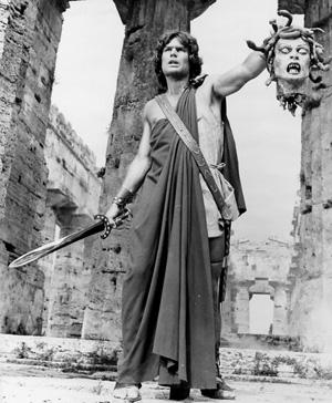 Perseo y la Medusa, bueno, su cabeza