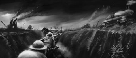 Arte Conceptual: Mutant Chronicles vía AICN