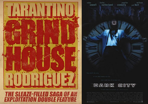¿Grind House 2 y Dark City 2?