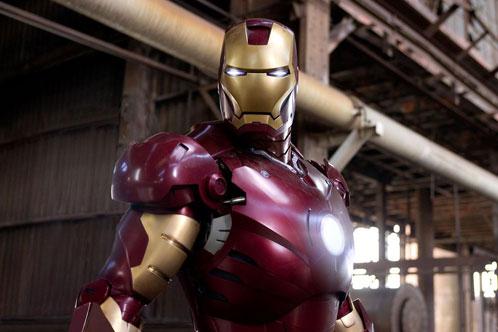 La nueva foto de Iron Man... impresionante!