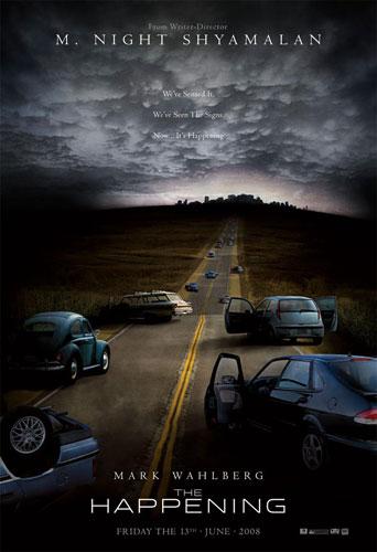 Primer póster para The Happening, lo nuevo de Shyamalan