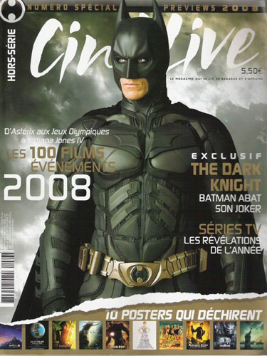 Portada para The Dark Knight en CinéLive