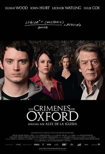 Nuevo póster oficial de Los crímenes de Oxford
