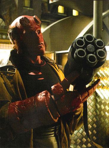 Primera imagen de Hellboy y la Big Gun