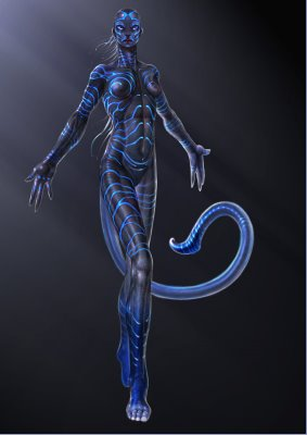 Posible arte conceptual de un Navi para Avatar