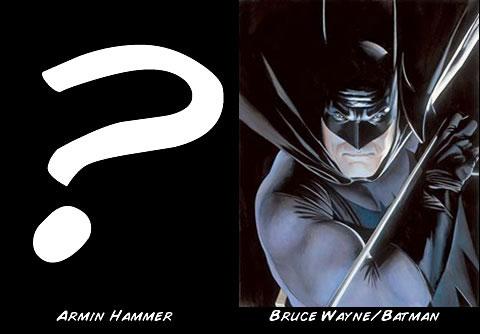 Armin Hammer como Batman