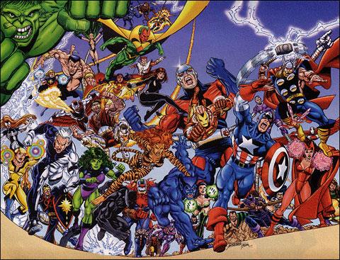Los Vengadores en plan totum revolutum