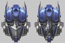 El careto de Optimus Prime