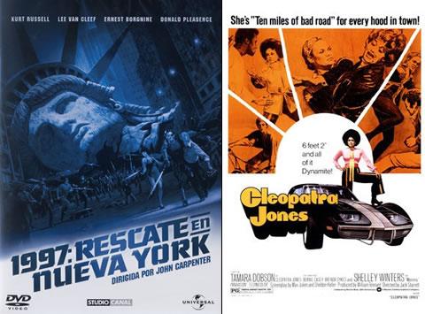 1997, Rescate en Nueva York y Cleopatra Jones