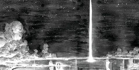 Power of the Dark Crystal (Arte Conceptual 1)