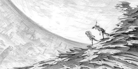 Power of the Dark Crystal (Arte Conceptual 5)