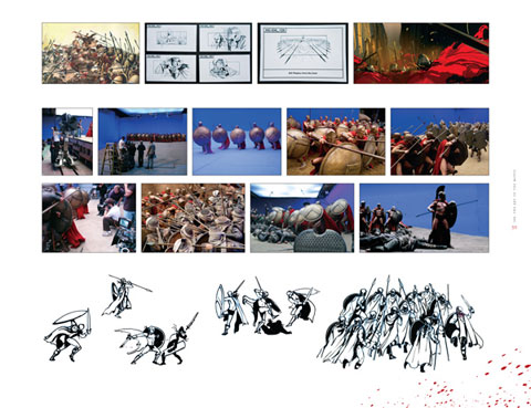 300, The Art of the Film (página detalle)