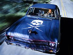 Stuntman Mike es el coche más cool del cine moderno!