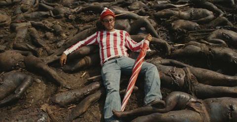 Wally en Apocalypto... alucinante!