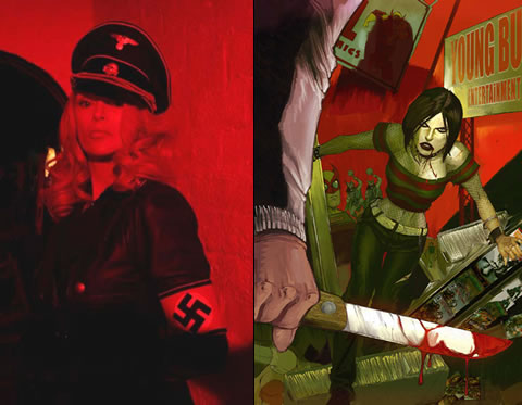 Werewolf Women of the SS y Hack/Slash