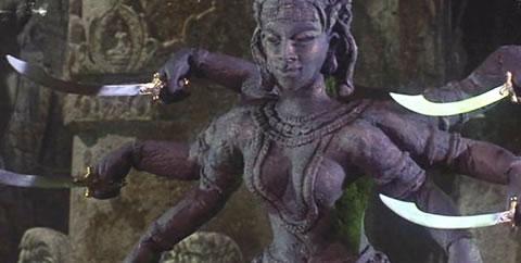 La diosa Kali creada por Ray Harryhausen