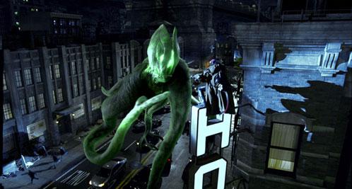 Hellboy haciendo frente a un Elemental!