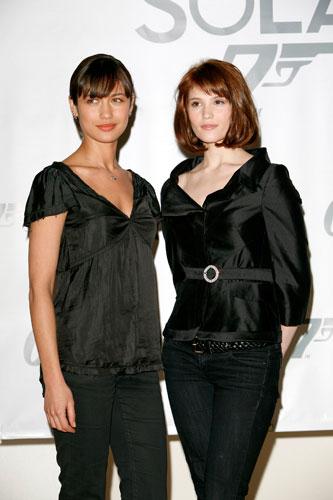 Las chicas Bond en Quantum of Solace