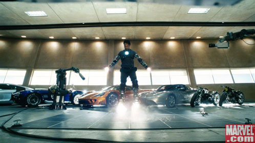Captura del spot de Iron Man que se verá en la Superbowl