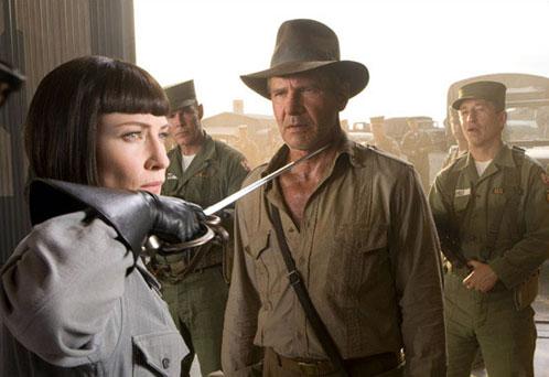 Una foto nueva de Indiana Jones y el Reino de la Calavera de Cristal que no había puesto