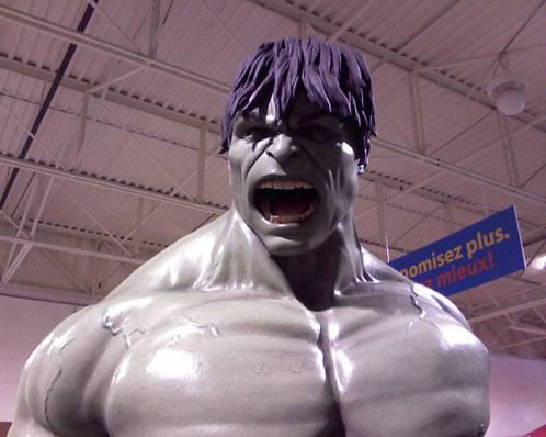 El rostro del nuevo Hulk
