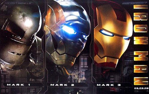 Cartel de Iron Man presentado en la WonderCon
