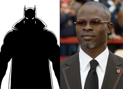 ¿Djimon Hounson como Pantera Negra?
