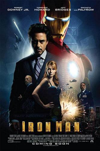 Primer nuevo cartel de Iron Man