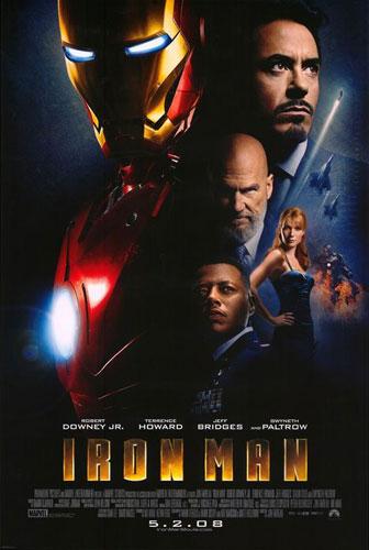 Segundo nuevo cartel de Iron Man