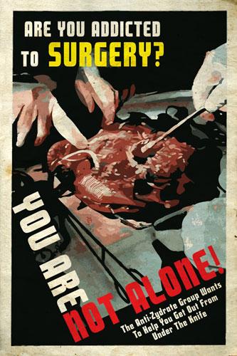 Nuevo cartel publicitario de Repo! The Genetic Opera!