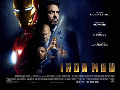Nuevo cartel de Iron Man
