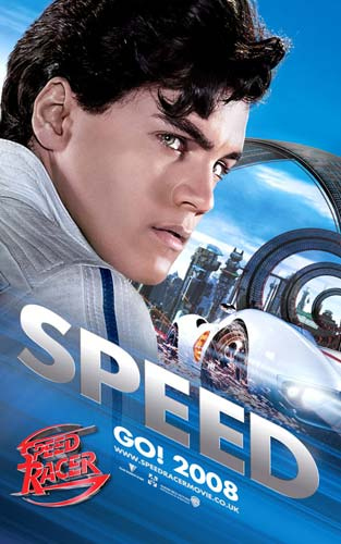 Cartel de Speed Racer 2