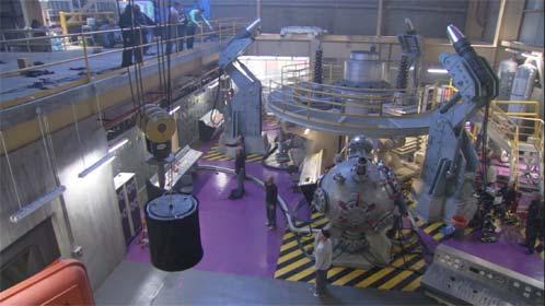 El laboratorio del Dr. Manhattan