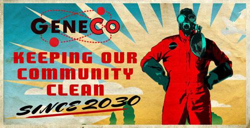 Uno de los nuevos carteles de Repo! The Genetic Opera!