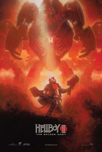 Póster de la NYCC para Hellboy II: El Ejército Dorado