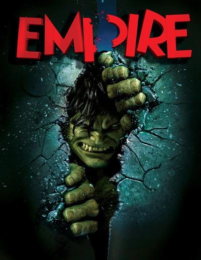 Portada de la revista Empire Magazine para The Incredible Hulk