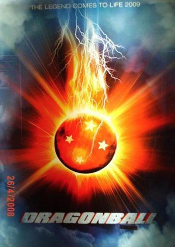 Teaser póster de Dragonball