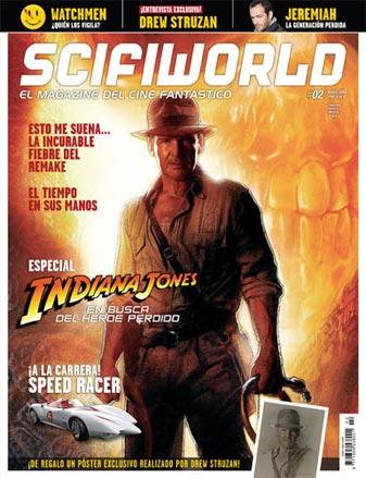 Portada del número 2 de SciFiWorld