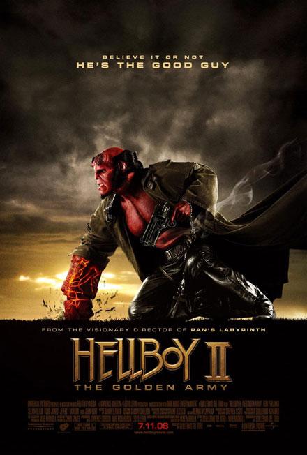 Nuevo póster de Hellboy II: El Ejército Dorado!