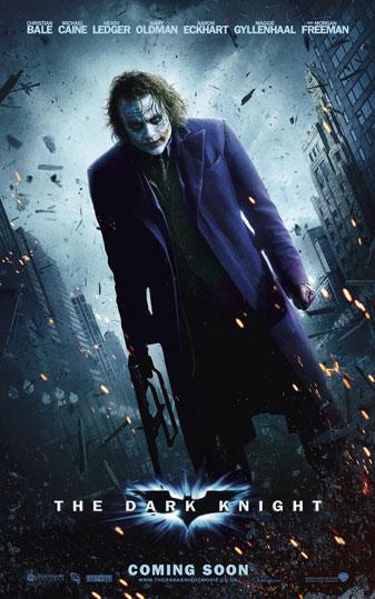 Nuevo cartel de The Dark Knight / El caballero oscuro