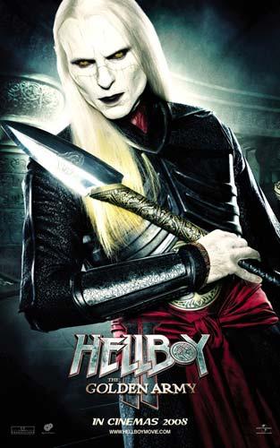 Nuevo póster de Hellboy II: El Ejército Dorado - Príncipe Nuada