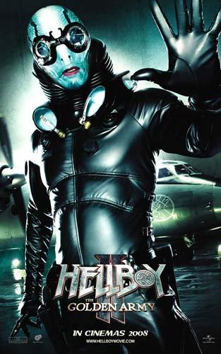Nuevo póster de Hellboy II: El Ejército Dorado - Abe Sapien