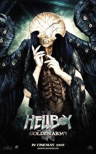 Nuevo póster de Hellboy II: El Ejército Dorado - Ángel de la Muerte