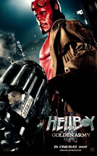 Nuevo póster de Hellboy II: El Ejército Dorado - Hellboy