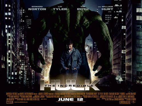 Nuevo póster rectanguar de The Incredible Hulk