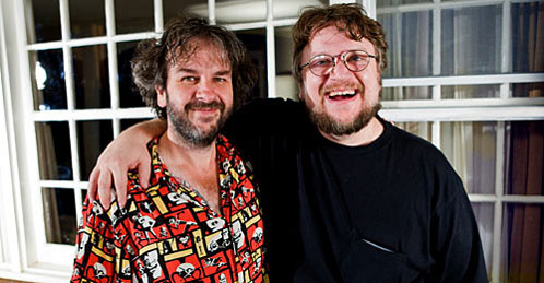 Peter Jackson y Guillermo del Toro se lo pasan de miedo charlando