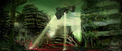 Arte conceptual de Terminator Salvation: The Future Begins