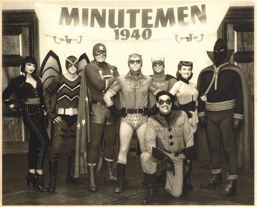 Una foto de los Minutemen