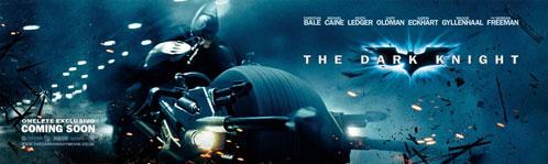 Nuevo banner de The Dark Knight / El caballero oscuro
