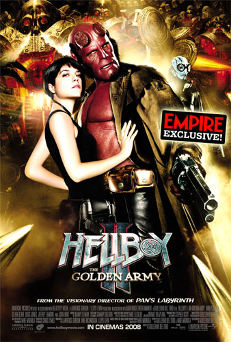 Nuevo cartel de Hellboy II: El Ejército Dorado